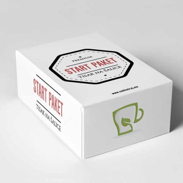 Start paket za tisak na šalice