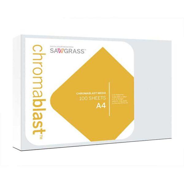 Chromablast-R, Ricoh-3110DN, papir za tisak na pamuk, A4