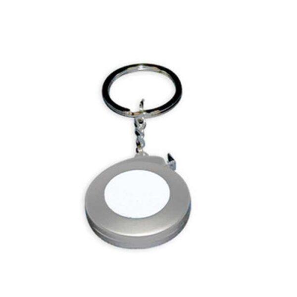 Metalni privjesak za ključeve, metar