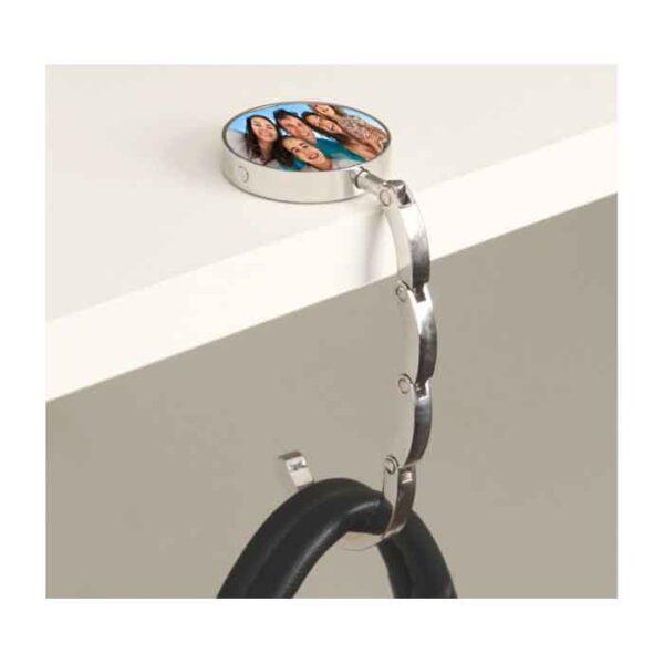 Metalni držač za torbu, krug