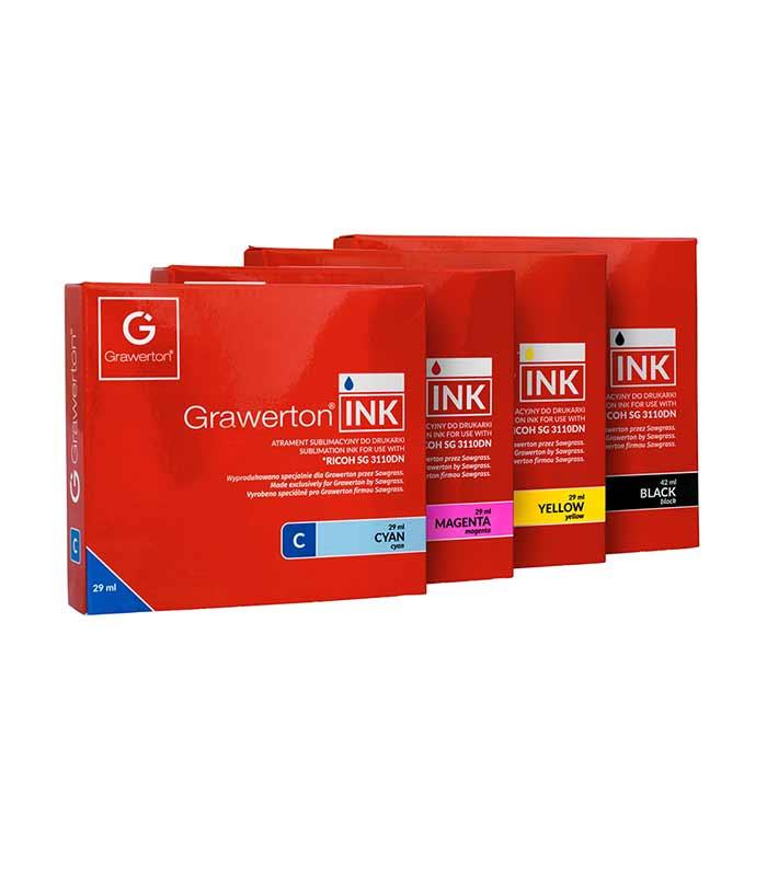 Grawerton, Ricoh 3110DN, boja za sublimaciju