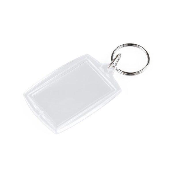 Akrilni privjesak za ključeve, 52x32mm