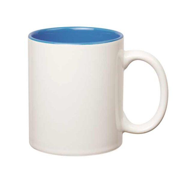 šalica-za-sublimaciju, obojana-unutrašnjost, svijetlo-plava