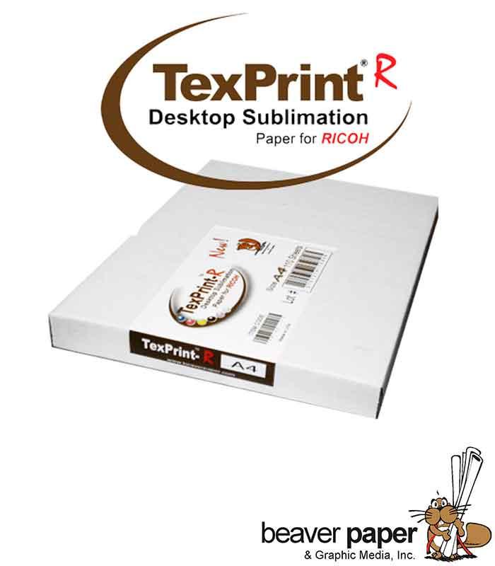 TexPrint-R, papir za sublimaciju, A4, 110 listova, za Ricoh printer
