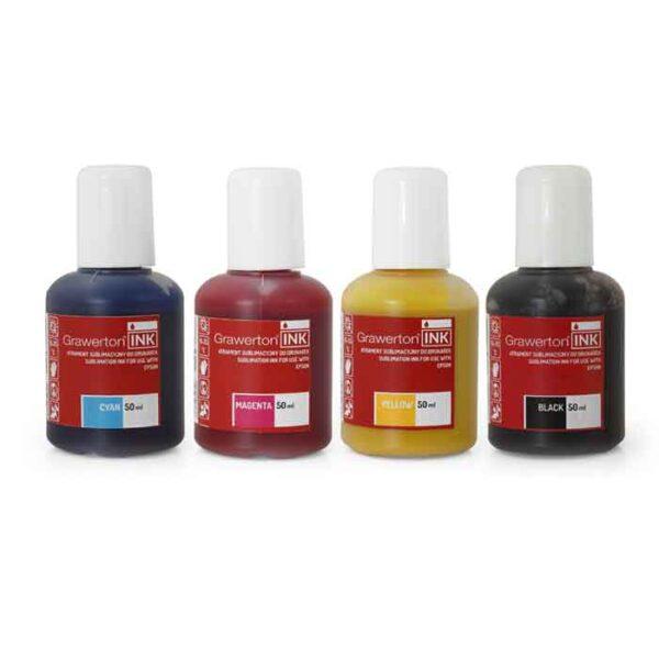 Grawerton, boja za sublimaciju, Epson, 50ml