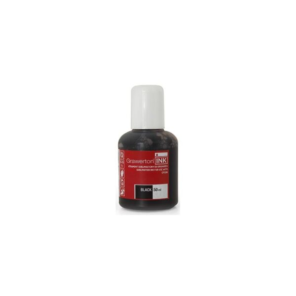 Grawerton, boja za sublimaciju, Epson, 50ml, BLACK