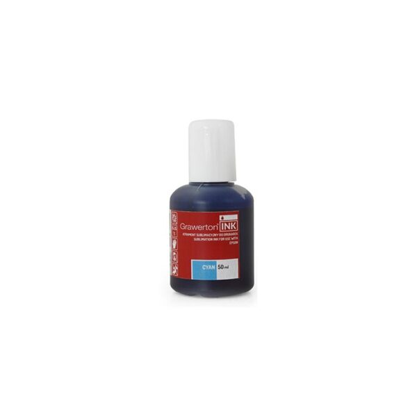 Grawerton, boja za sublimaciju, Epson, 50ml, CYAN