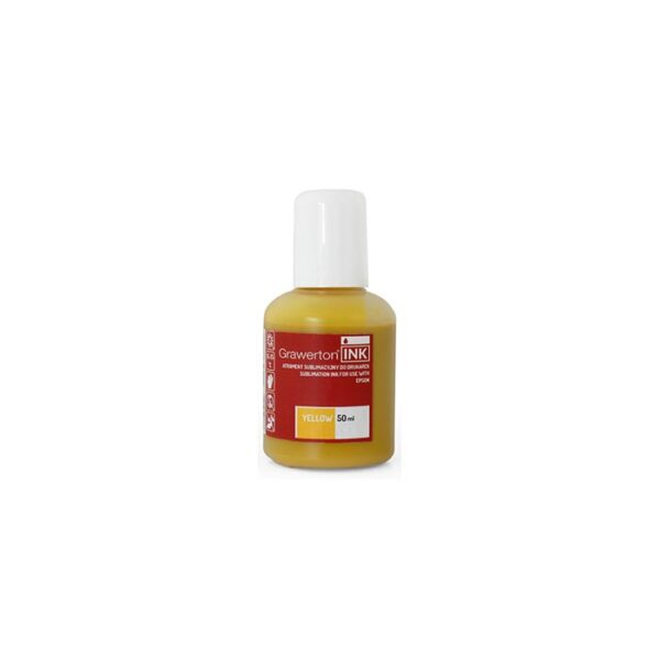 Grawerton, boja za sublimaciju, Epson, 50ml, YELLOW