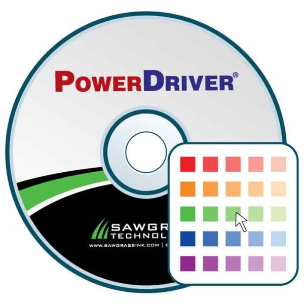 Powerdriver / Sawgrass ICC color management