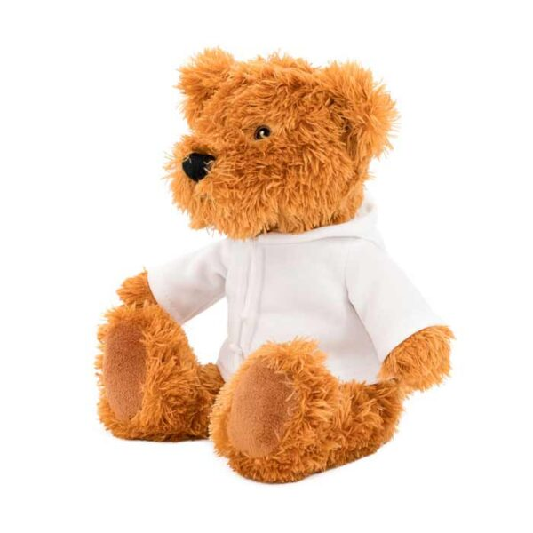 Teddy bear s hoodie majicom, plišana igračka, 21cm