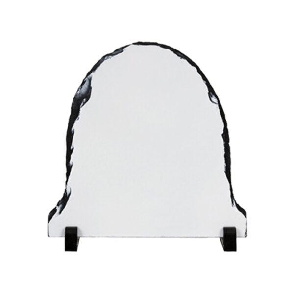 Foto kamen za sublimaciju, 15x15cm, oval